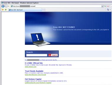 404 scam
