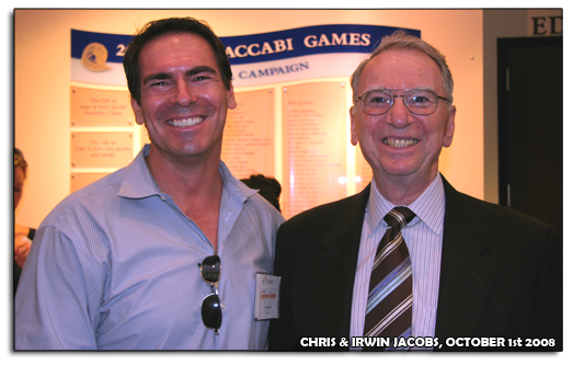 Chris Kameir and Irwin Jacobs, UCSD October 1st 2008